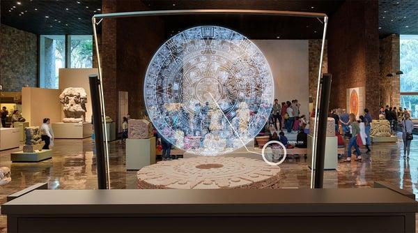 DeepFrame at aztec Museum