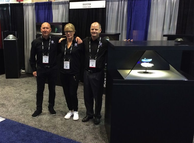 Realfiction at infocomm 2015