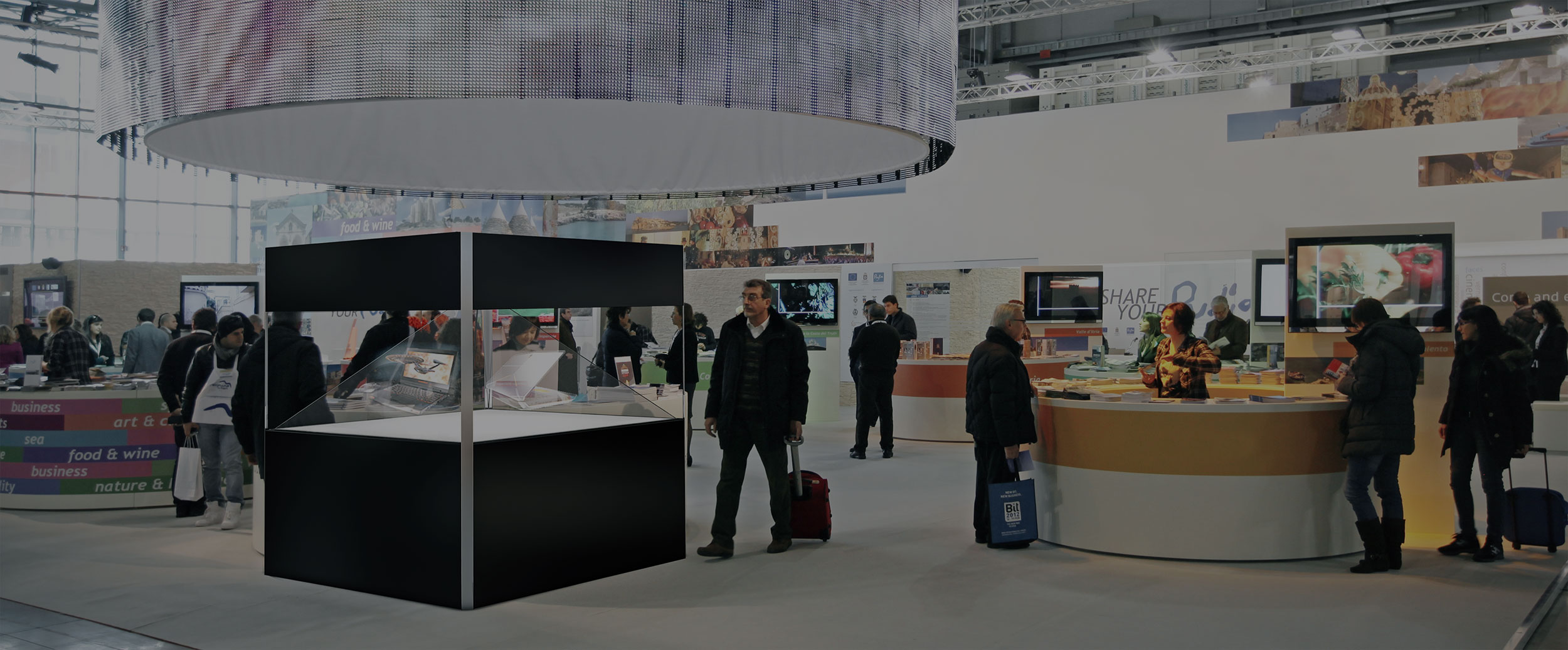 Making an impression with your trade show stand